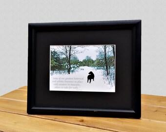 Black Lab Art Quote - Black Labrador Retriever Art - Quote Print - Labrador Retriever Art - Quote Art - Dog Lover Gift