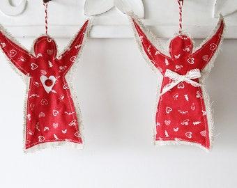 Rustic Christmas Angels