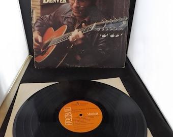 John Denver Poems Prayers and Promises Vinyl Record Album