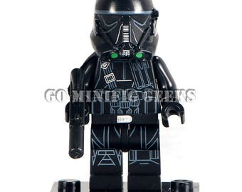 Custom Imperial Death Trooper Minifigure Rogue one Star Wars Fits Lego UK Seller