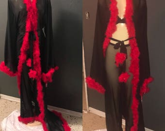 Custom Robe Set With Pants Or Shorts