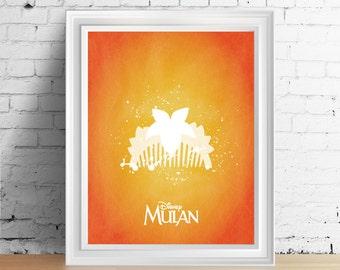Disney Mulan downloadable digital art print