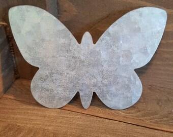 Hampton Art Galvanized Butterfly