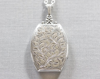 com original lockets large extra limetreedesign design with notonthehighstreet product by lime monogram tree locket silver