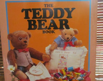 The Teddy Bear Book - Teddy Bear Crafts and Sewing Book Hardback (1980s) Teddy bear patterns