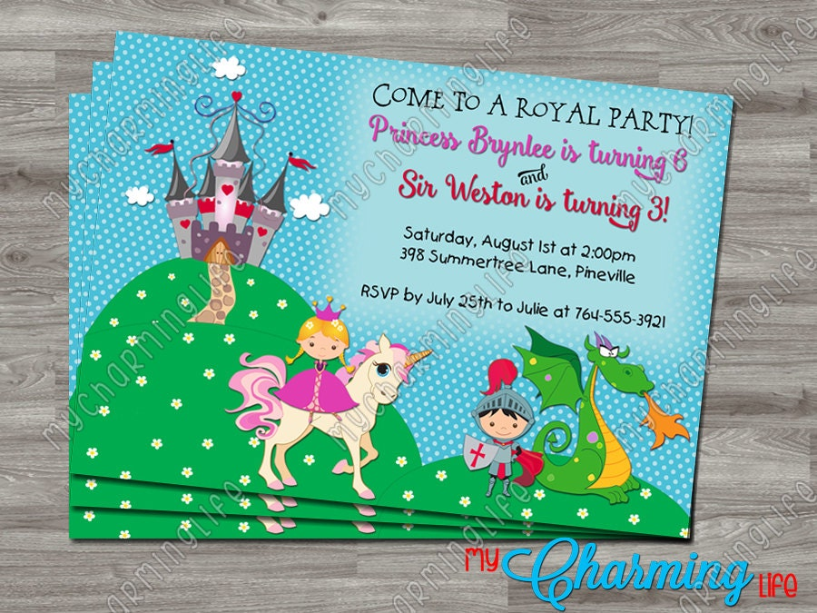 fairy princess party invitations printable - Picture Ideas References