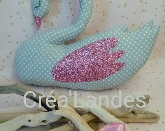 Plush Swan decoration room boy birthday gift