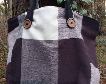 Upcycled, Beautiful Tote Bag
