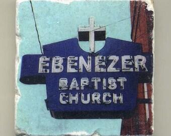 Ebenezer Baptist Church in Atlanta,Georgia - Original Coaster