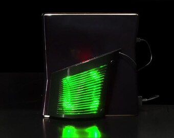 Wing fan (Green LED)  (Cooling fan for Xbox 360 Slim)