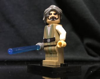 Grandmaster Luke Skywalker Star Wars Minifigure Custom Minifigures