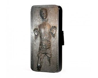 Star Wars Han Solo Carbonite inspired Sci-Fi PU Leather Flip Case To Fit the SAMSUNG GALAXY (all models)