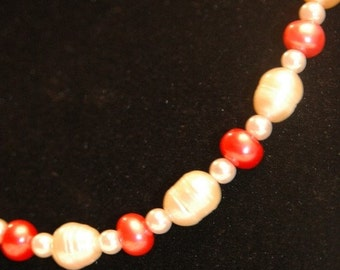 Coral Whimsy Necklace