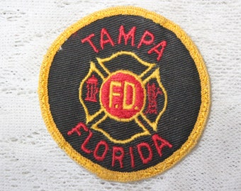 Tampa, Florida Fire Department Embroidered Patch