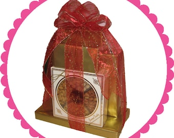 Gourmet Chocolate Gift Tower 7-Cookies And More!