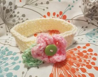 Sweet flower baby headband