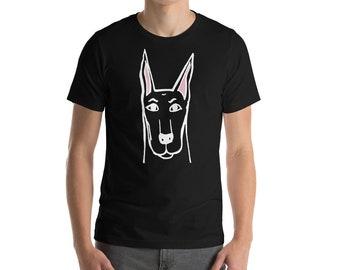 Mens Doberman tee shirt - Doberman Dog Lovers Tee - Dog Love Tee - Dog Gifts   Dog Tee Shirt Dog Tshirt