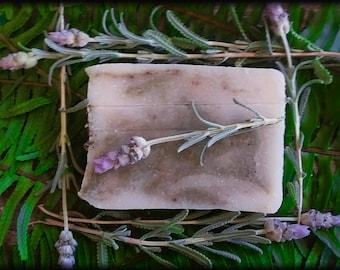 "Handmade Handcrafted Soap - ""Encantado"" (Enchanted) - Lavender and Rosemary"