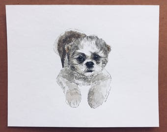 "8 x 10"" Made to Order Watercolor 