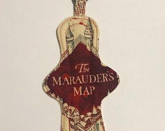 Harry Potter Marauders Map Key Chain