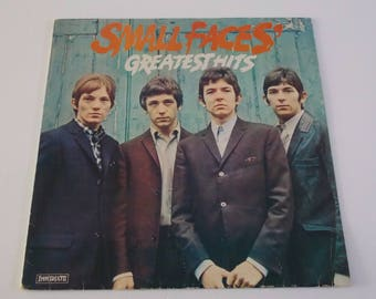 Small Faces - Greatest Hits - LP Vinyl Record Album - 60's / Classic Rock / Psych / Mod / R&B