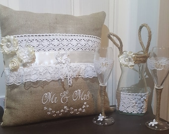 Shabby chic  cushion