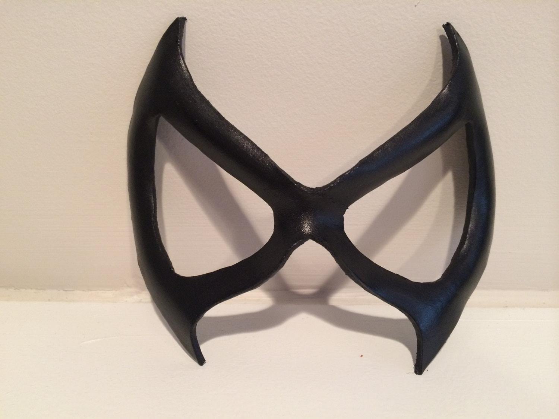 Superhero Leather Mask Black Cat Marvel