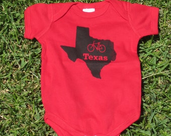 Bike Texas Baby Bodysuit