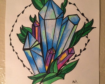Crystal Drawing