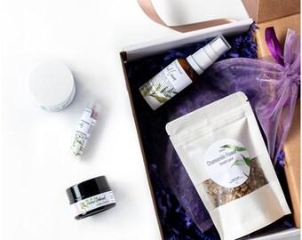100% Pure & Natural Organic SkinCare Kit