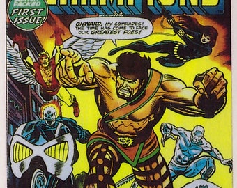 Marvel #1 The Champions with Hercules Comic Card from 1984 FTCC