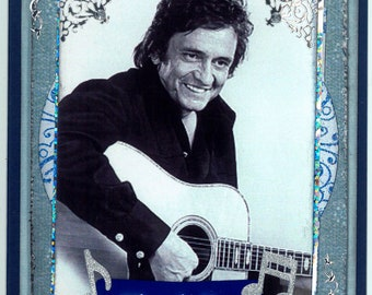 Johnny Cash Thank you Card