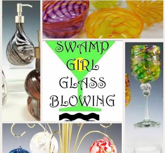Field Trip: Travel with Makana Art Studio to Swamp Girl Glass Blowing Studio - Slidell, Louisiana
