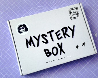 Mystery Box | Lucky Dip Box | Stationery Box | Stationery Set | Lucky Dip Bag | Notebook Set | Treat Box | Goody Bag | Gifts for Her