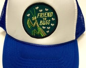 "Youth/Kids Trucker Hat- with ""Friend to Bugs""..."