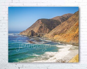 big sur print - california wall art - pacific coast highway 1 photography