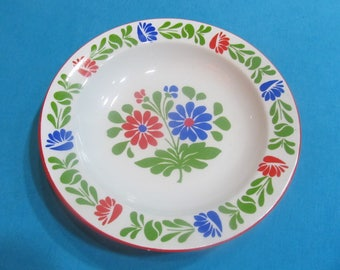 Vintage Hungarian Alfoldi Porcelain Wall Plate