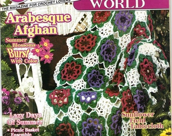 Crochet World Magazine - August 1997 Issue