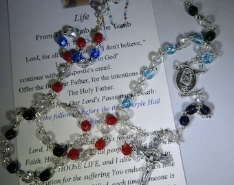 The Pro-Life Rosary~Natural Life, From Womb to Tomb~