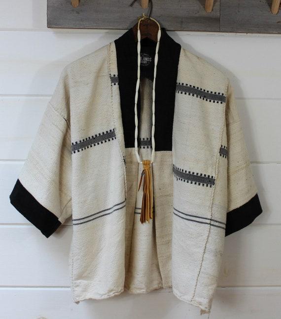 Fulani Mud Cloth Kimono