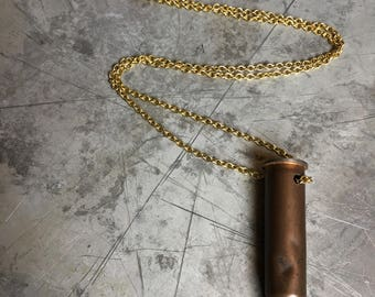 375-06 Whelen Bullet Crystal Necklace