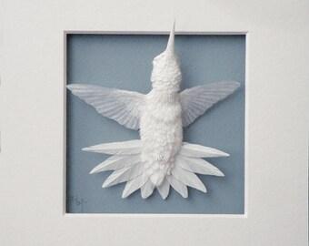 Paper Hummingbird Sculpture Art Starburst Made to Order
