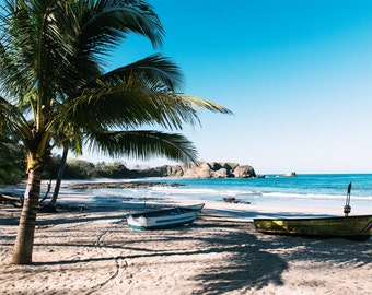 """Travel Photography, Landscape Photography, Tropical, Costa Rica, Central America, Exotic, Nosara, Palm Trees, Wanderlust - """"Nosara"""""""
