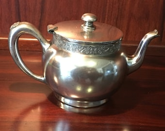 Aesthetic Barbour Silver Company Victorian  Silver Plate Teapot Circa 1895