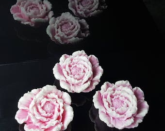 """Selling a set of soaps - """"Rare Peony"""" handmade Scented Soap"""
