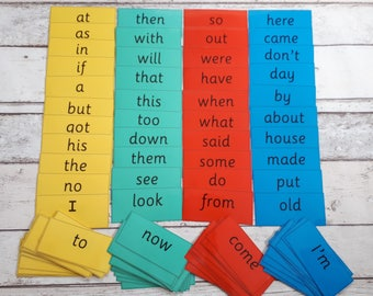 Phonics flash cards, word cards, phases 2-5, letters and sounds, reading cards, first 100 words, reception words, year 1 words, year 2 words