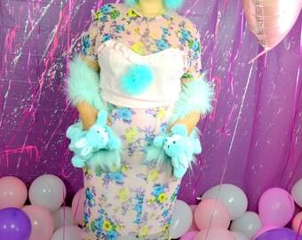 Floral babe 2 piece set