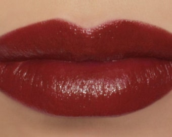 "Vegan Red Lipstick - ""Carnelian"" made from natural ingredients"