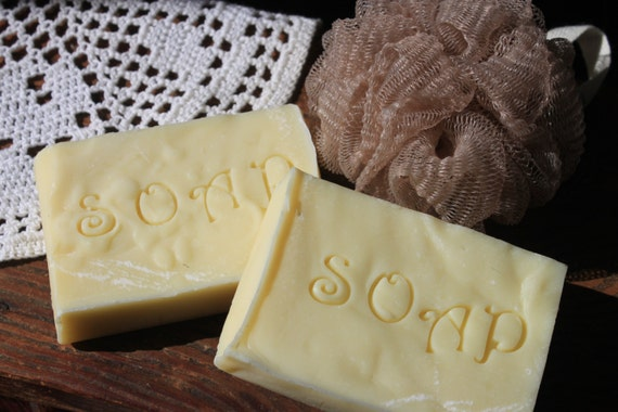 Soap-Handmade Double Butter Unscented Natural Soap