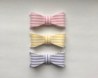 Stripe Bow